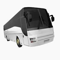 lion coach 3d model