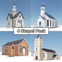 4 Chapel Pack