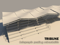 ma tribune seating retractable