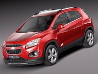 chevrolet trax 2013 suv 3ds