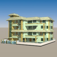 3ds max duplex building