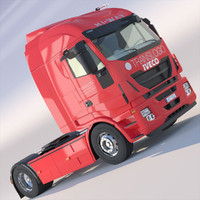 3ds max new iveco stralis hi-way