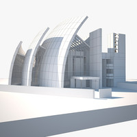 jubilee church 3d model