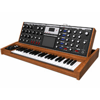Keyboard / Synthesizer: Moog Voyager: Wood Finish