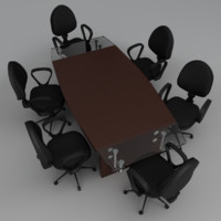 Meeting Table & Chairs