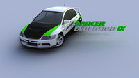 Mitsubishi Lancer Evolution IX Gamemodel