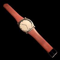 3dsmax wristwatch clock