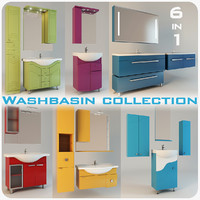 basin washbasin 3ds