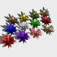 gift bows 3d max
