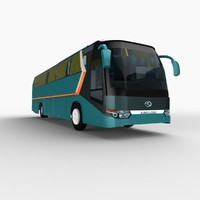 3ds max xiamen king long bus