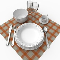 set plate 3d max