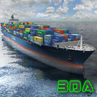 Container Ship 3300TEU CMA CGM