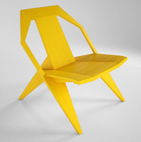 medici chair mattiazzi 3d model