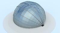 small dome 3d model