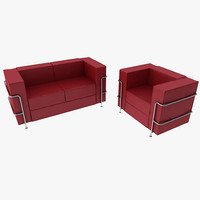 Modern Style Sofa and Armchair