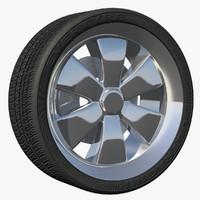 3d model of wheel ttzz rim