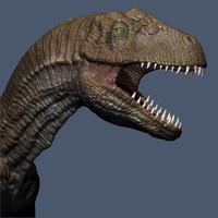 Allosaurus Fragilis dinosaur