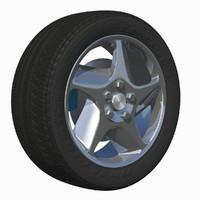 3d model wheel rim stock