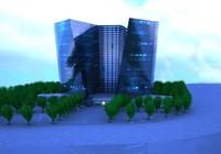 3d shopping center model