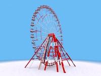 3d model carusel