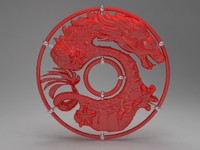 3ds max dragon