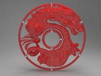 3ds max dragon