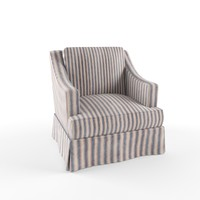 3d chair classik model
