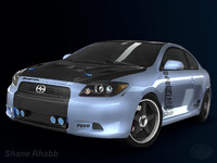 3d 2009 scion tc