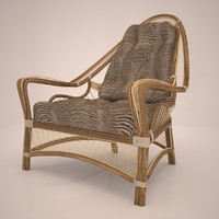 chair ropes 3d max
