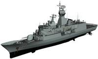 anzac class frigate upgrade 3d max