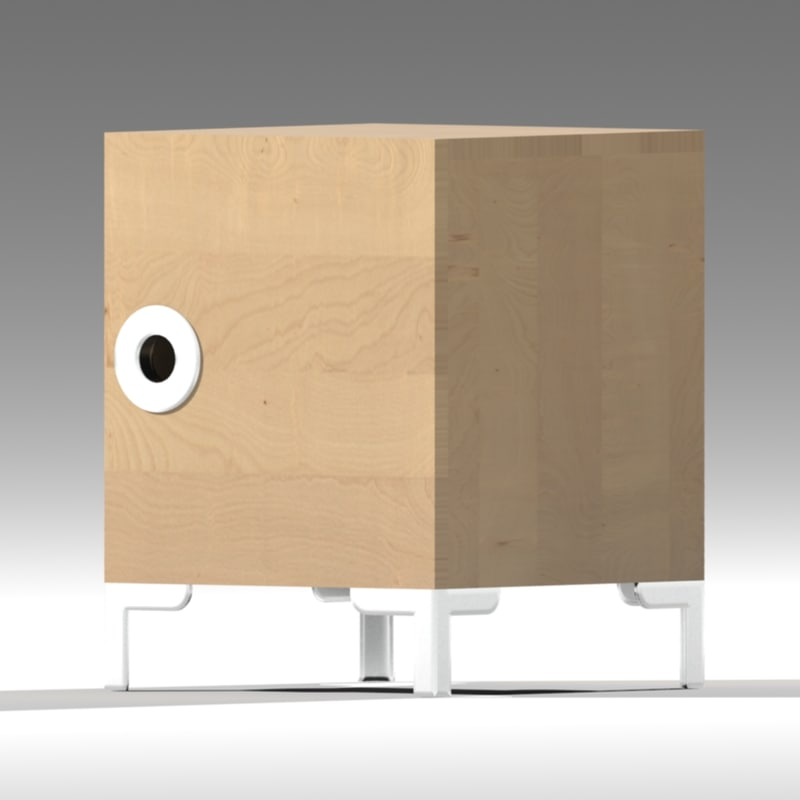 Ikea Cabinets Yes Or No: Ikea Engan Bedside Cabinet 3d 3ds