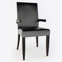 baker - paparazzi arm chair obj