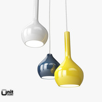 3d ceramic lights drips t