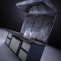 3ds max old grill