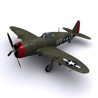 P-47D Thunderbolt Razorback - Lt Col Gabreski 56th FG