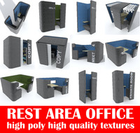 3d rest office seating