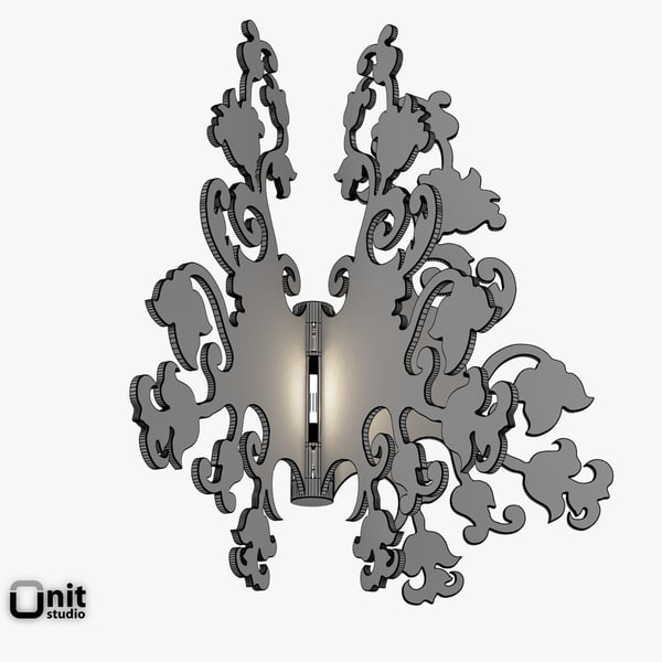 3d light anastacha wall terzani - Wall Light Anastacha by Terzani... by UnitStudio