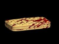 3d model bloody mattress