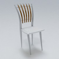 3d chair hdri model