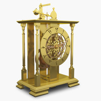 3d max mechanical clock