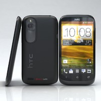 htc desire v black 3d model