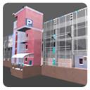 parking building 3d max
