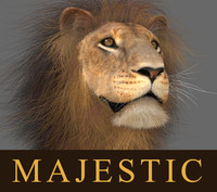 lion animation fur 3d max