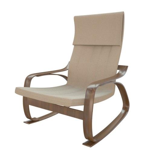 Ikea Chair Poang 3d Obj