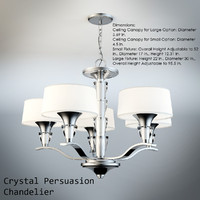crystal persuasion chandelier max