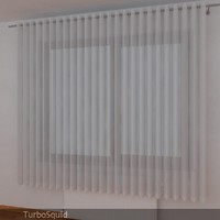 curtain 03 3d dxf