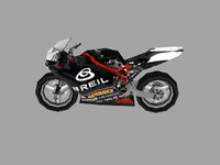low poly sport bike 10