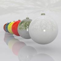 spheres christmas 2011 3d model