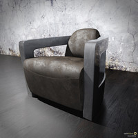 3d swivel chair