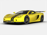 3ds max ascari car